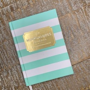 Teal & White Small Daily Appreciation Journal